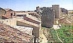 Castillo y murallas de Urueña en Valladolid