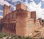 Castillo de la Mota en Medina del Campo