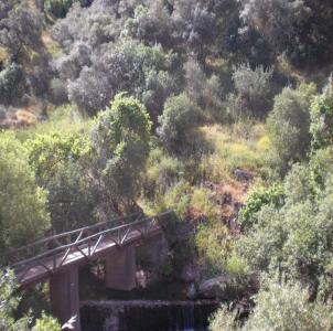 Ruta de senderismo del rio Bembézar en Córdoba