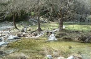 Ruta de senderismo del Vado de las Carretas en la Sierra de Cazorla en Jaen