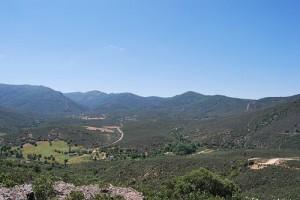 Mirador de Navalucillos en el Parque Nacional de Cabañeros