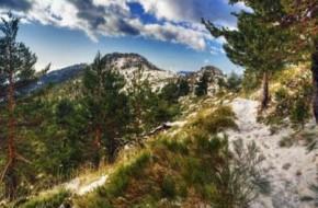 Ruta de senderismo Cuerda de las Cabrillas en Navacerrada en Madrid